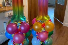 Little Sleepy Teepee balloons