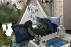 Roarsome Dinosaurs themed teepees